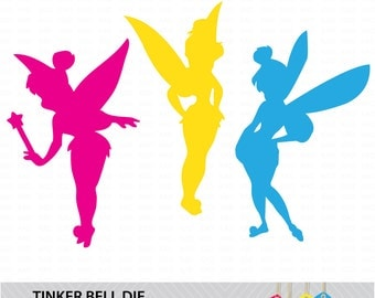 Tinker Bell Die Cut / Vector Shapes