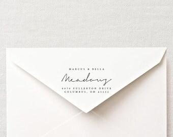 DIY Custom Printable Return Address Labels- Design 7