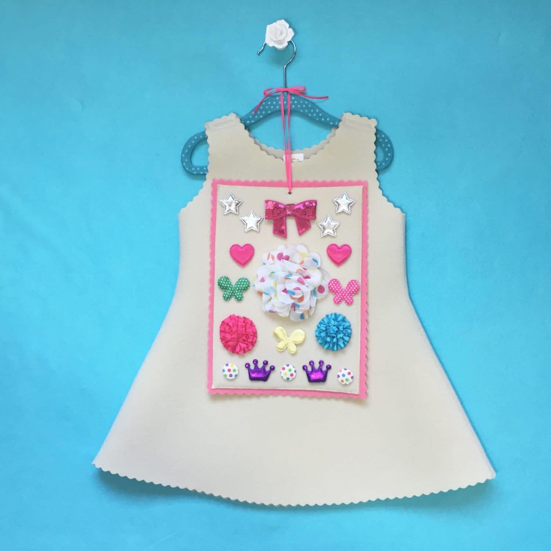 Make Your Own Dress Design: Design Your Own Girls Dress Handmade Customizable Dress