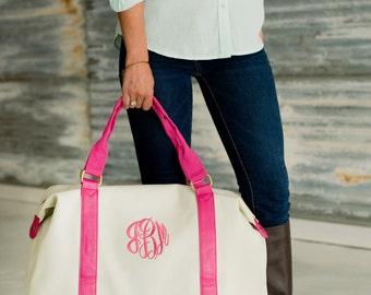 Large Weekend Bag- FREE Personalization, Monogrammed Duffel Bag-Extra Large Bag-Travel Bag, Bridesmaid Gift, Overnight bag- Personalized bag