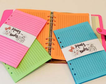 Notebook Paper Etsy
