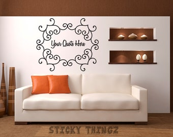 Superbe Create Your Own Wall Decal   Custom Wall Decal   Wall Quote   Business Decal