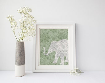 Elephant Wall Art Instant Download 1 Printable Images Home Decor Wall Decor  5x7 8x10 11x14 16x20 Part 53