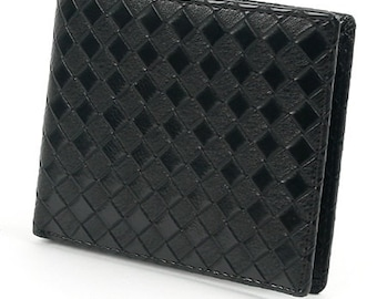 15 dollars off for Mens wallet, Classic Mesh Pattern wallet,  Men wallet, Synthetic Leather Wallet, Leather Items, Vintage Wallet