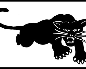 New Sticker Decal Black Panther Party for Self-defense Panthers 60s 1960s Radical