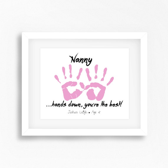 Mothers Day Gift For Nanny Personalised Grandmother Gift