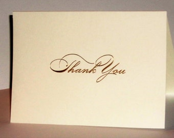 Thank You Cards,  Wedding Thank You Cards, Baby Shower Thank You Cards, Bridal Shower, Anniversary Thank You Cards,