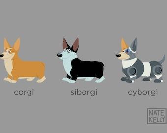Corgi, Siborgi, & Cyborgi
