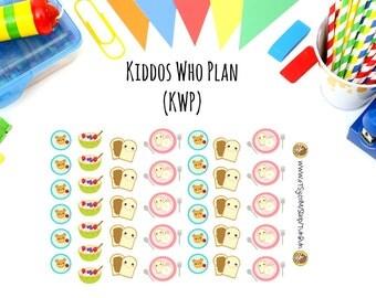 Kiddos Breakfast Planner Stickers
