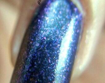 Royal Purple Metallic Flakie Topcoat