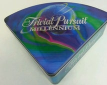 New Trivial Pursuit Millennium - Metal Tin Box Edition 1998