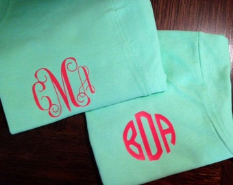 Iron On Monogram