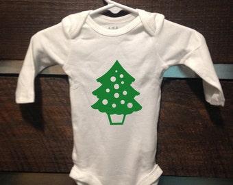 Christmas Tree Onesie