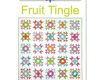 FRUIT TINGLE Quilt Pattern - by Australian Designer Emma Jean Jansen