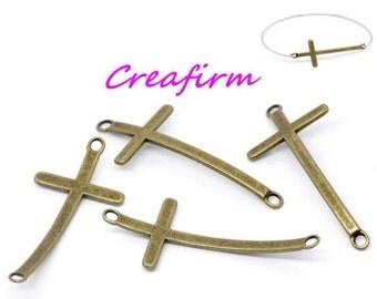 20 connectors cross Bronze
