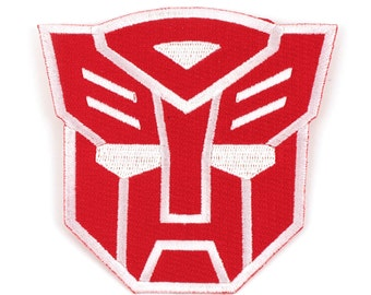 Transformers Autobots Logo Iron-On Patch (PCH-TRS0801). Patches, autobots, transformers, iron-on patch, optimus prime