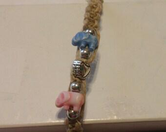 Elephant Heart Bracelet