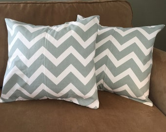 "Chevron pillow cover set (18""x18"")"