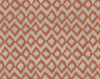 Hummingbird Garden by Sadie for Clothworks Textiles Y1653-37 Dark Orange