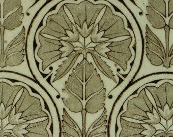 Antique Wedgwood Art Nouveau pottery tile