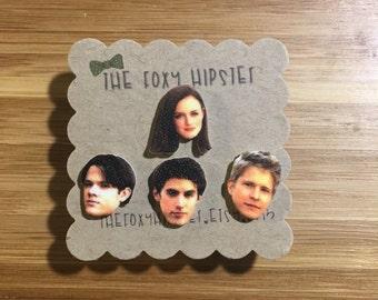 Rory, Dean, Jess, Logan Gilmore Girls Stud Earrings