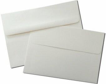25 Double Wedding Envelope Sets - Cream Outer & Inner Envelopes