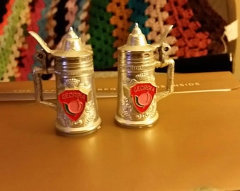 Georgia salt and pepper shakers