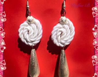 orecchini cordoncino