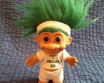 Vintage NFL Russ Troll Doll/Eagles Troll Doll