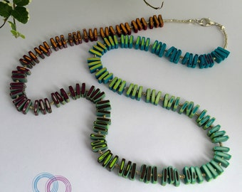 """Artist necklace """"Indian"""""""