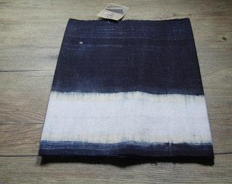 Vintage Hmong batik fabric from Hmong skirt #VB0031