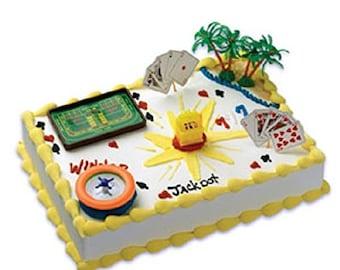 Casino Cake Decorating Kit
