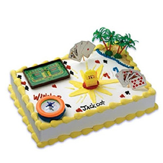 Cake Decorating Kit Matchbox : Casino Cake Decorating Kit