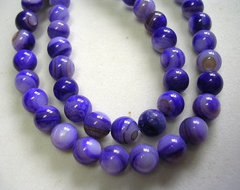 Purple Mother of Pearl Rounds 6mm Purple Shell Beads 15 inch strand 60 Beads Shimmery 6mm Mother of Pearl Rounds Pink Beads