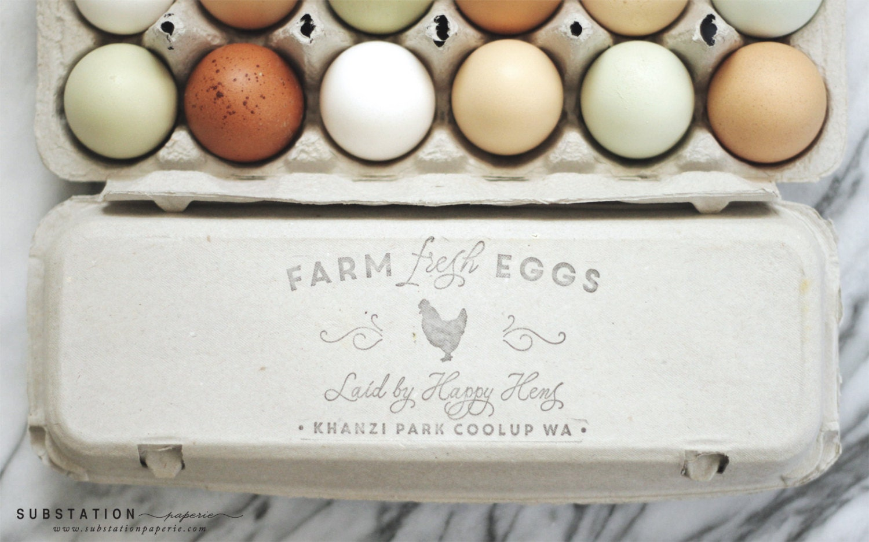 Egg carton labels | Etsy