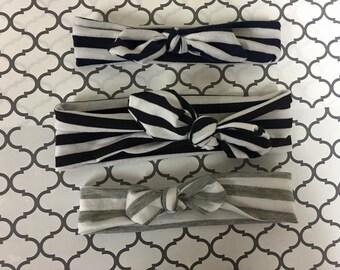 Striped Turban Headband