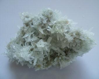 """Raw minerals form Madan Bulgaria, Quartz cluster, 6.5x4.5 cm, 2.3x1.5"""","""