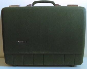 Vintage Green Suitcase.
