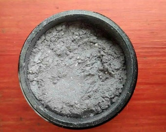 Mineral Makeup, mineral eyeshadow, natural makeup, color - Silver Mist, stocking stuffer