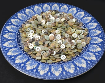 50 AGOYA BUTTONS - Choose size 18L 16L 14 L - great quality buttons!  Amazing colors!  Must see!