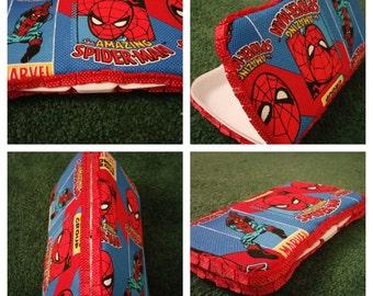 Custom Diaper Wipes Case - Spiderman