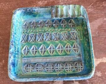 Bitossi Rimini Blue Italian ashtray