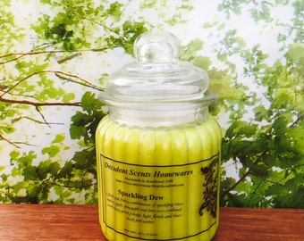 Sparkling Dew Scented Soy Candle