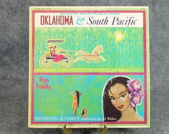 Favorite Show Tunes From Oklahoma & South Pacific on LP Record