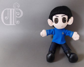 Spock Star Trek Beyond Plush Doll Plushie Toy