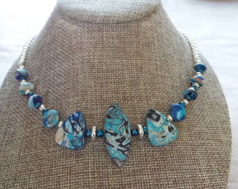 Gorgeous Polymer Clay Necklace