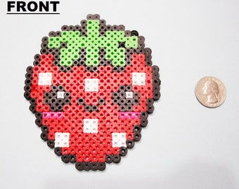 Strawberry Perler Bead Sprite