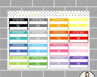 Appointment Planner Stickers