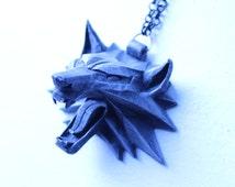 Geralt Of Rivia Witcher Wolf Medallion Cosplay