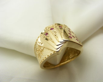 Royal Flush Poker ring